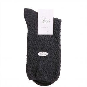 Levante 100% Textured Cotton Sock 100TECO Slate