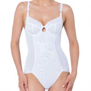 Florale by Triumph Wild Rose Florale Shapewear Bodysuit 10181818 White