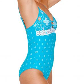 Seafolly Inka Gypsy Ladder Back Swim One Piece 10692-609 Eden