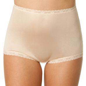 Bendon Nylon Tricot Full Brief 13-17 Naturelle