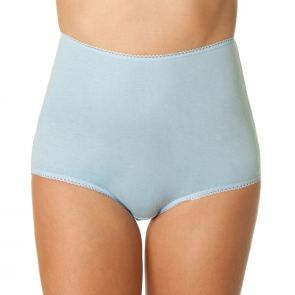 Bendon Plain Full Brief 13-260 Misty Blue