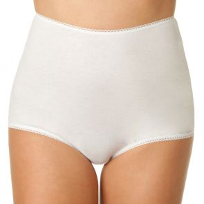 Bendon Plain Full Brief 13-260 White