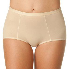 Bendon Body Cotton Trouser Knicker 13-534 Natural