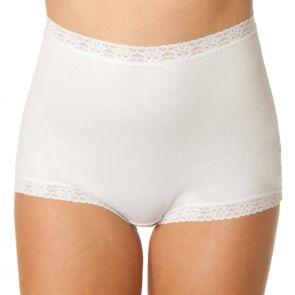 Bendon Cotton Full Brief 13-564 White