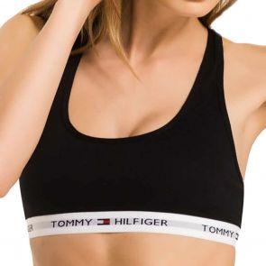 Tommy Hilfiger Iconic Cotton Bralette 1387904878 Black