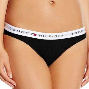 Tommy Hilfiger Cotton Thong 1387906069 Black