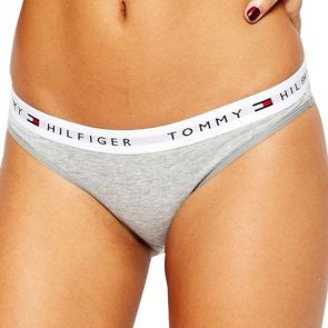 Tommy Hilfiger Cotton Thong 1387906069 Grey Heather