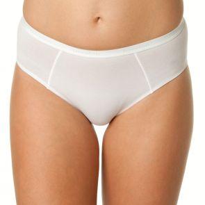 Bendon Body Cotton High Cut Brief 14-534 White