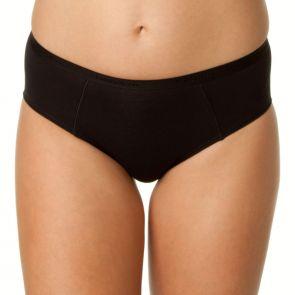 Bendon Body Cotton High Cut Brief 14-534 Black