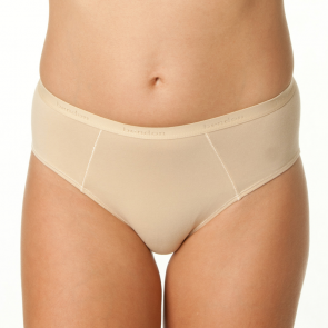 Bendon Body Cotton High Cut Brief Natural 14-534