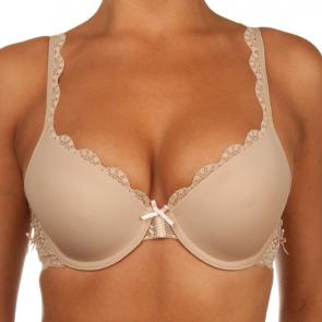 Audelle Athena T-Shirt Bra Nude/Pink LE17305ST