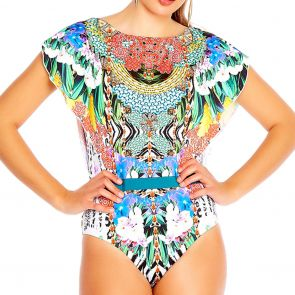 Aqua Blu Opulence Decadence One Piece A8037OP Multi