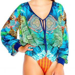 Aqua Blu Instinct Euphoria Swim One Piece A8077IN Multi