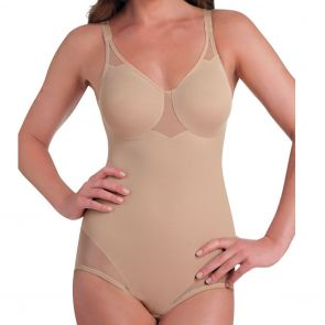 Miraclesuit Shapewear X-Firm Sheer Bodysuit Nude 2783