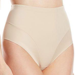 Miraclesuit Shapewear Sheer Shaping Comfort Leg Waistline Brief 2804 Nude