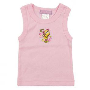 Bright Bots Pastel Singlet Pink 2PSESIN1