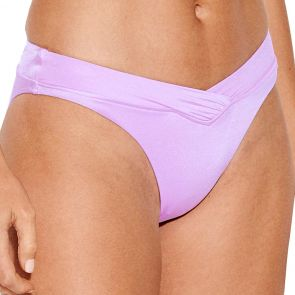Seafolly Shine On High Cut V Swim Brazilian Bikini Pants 40509-499 Lilac
