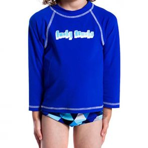 Funky Trunks Still Speed Toddler Rash Vest Still Speed TT20B00215