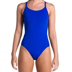Funkita Still Speed Ladies Diamond Back One Piece Swimsuit Still Speed - Blue - FS11L00469