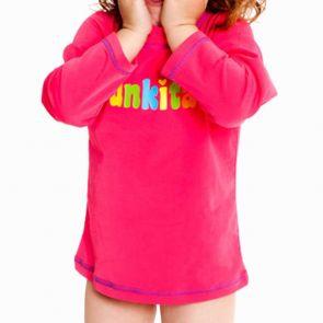 Funkita Still Pink Toddlers Long Sleeve Rash Vest Still Pink TT20G00216