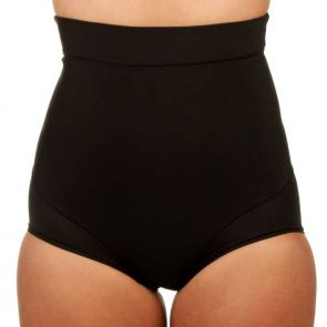 Nearly Nude Thinvisible Firming High Waisted Brief Black NNTVFHWBR
