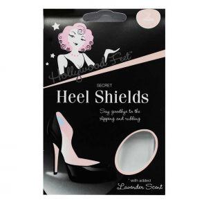 Hollywood Feet Secret Heel Shields Clear HGF-HS2