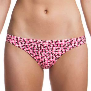 Funkita Pink Army Ladies Brazillian Brief Pink Army FS22L00599