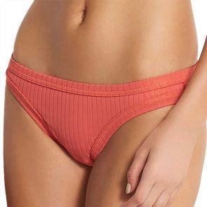 Seafolly Inka Rib Hipster Bikini Pant 40368-165 Spice