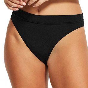 Seafolly Swim Active Hi Rise Bikini Pant 40515-058 Black