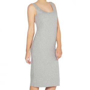 Betty Basics Tess Tank Dress Silver Marle BB226