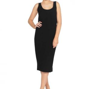 Betty Basics Tess Tank Dress Black BB226
