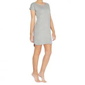 Betty Basics Tiarne Tee Dress Silver Marle BB229