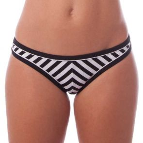 Finch Swim Riviera Rio Pant Black/White RVP169