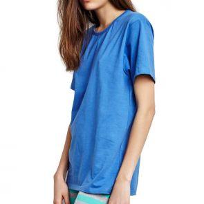 Alas Sleepwear Unisex T-Shirt Sky Blue A9T04