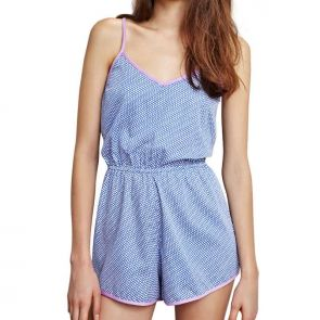 Alas Sleepwear Interlude Teddy Blue A9TD01