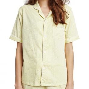 Alas Sleepwear Interlude Pyjama Set Yellow A9PSET02