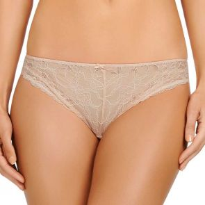Lovable Lacey Bikini Brief Cream Tan LL30-1063
