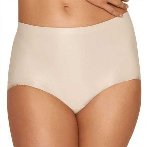 Hush Hush by Slimform Essensual Smooth Lace Control Brief Nude HH014