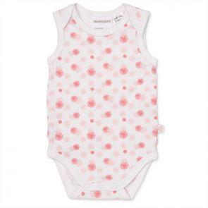 Marquise 2 Way Stretch Frilled Bodysuit Pink Starburst MQB124
