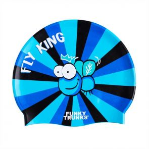 Funky Trunks Accessories Silicone Swimming Caps Fly King FT9901172