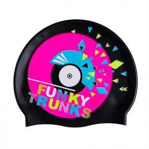 Funky Trunks Accessories Silicone Swimming Caps Disco Stu FT9901173