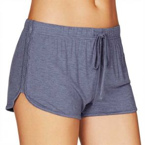 Heidi Klum Intimates Cozy Mornings Shorts Colony Blue Marl H43-1376A