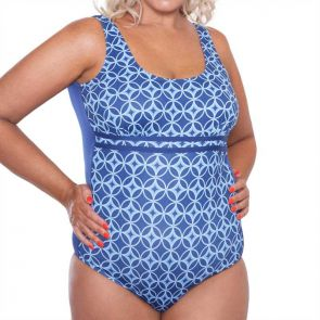 Genevieve Swimwear Money Penny Mastectomy Scoop One Piece Money Penny CR922MMP