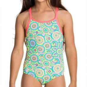 Funkita Petal Party Toddler Girls One Piece Petal Party FG01T01151