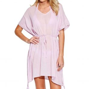 Seafolly Inka Gypsy Shadow Embroidered Kaftan 53594 Lilac