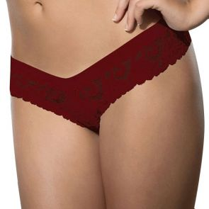 Doreanse Womens Thong 6155 Burgundy