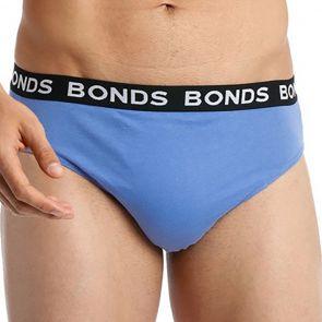 Bonds Elastic Hipster Brief 4-Pack M38DM4 Multi