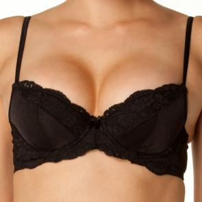 Bendon Body Lace Contour Bra 72-598 Black