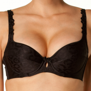 Bendon Damask Contour Bra 72-69 Black