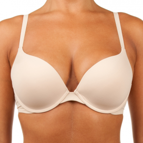 Bendon Weightless Push Up Plunge Bra Latte 73-7119